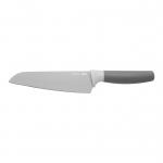 Нож сантоку Leo (серый),17см