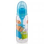 Бутылочка Happy Baby Baby антиколиковая с силиконовой соской 250мл 10015 Sky