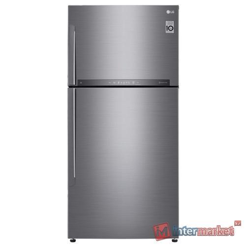 Холодильник LG GR-H802 HMHZ, Серебристый