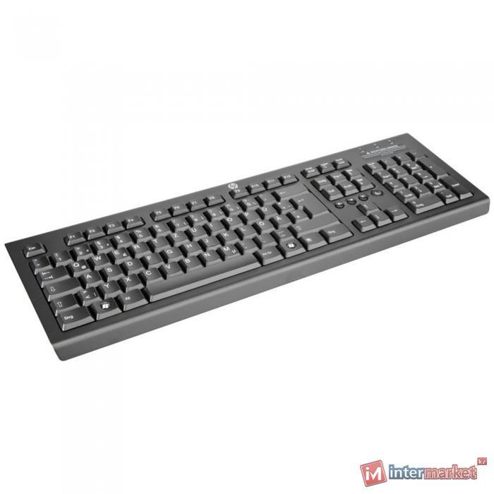 Клавиатура HP WZ972AA, Black, USB