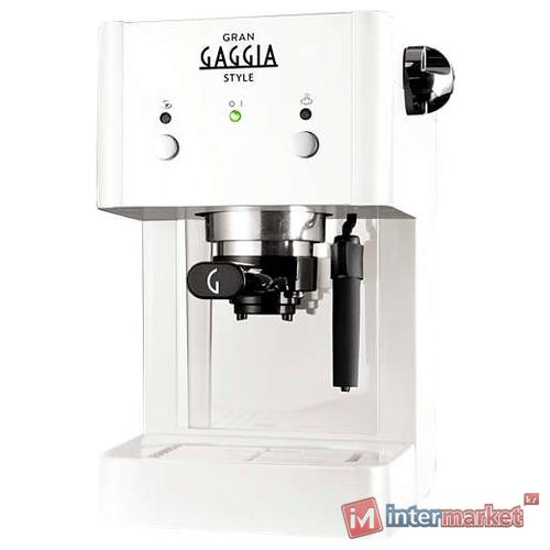 Кофеварка рожковая Gaggia Gran Style white