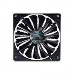 Кулер для кейса AeroCool SHARK fan 14см Black Edition