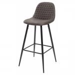 MC UDC5122 (Lion bar) стул микрофибра коричневый