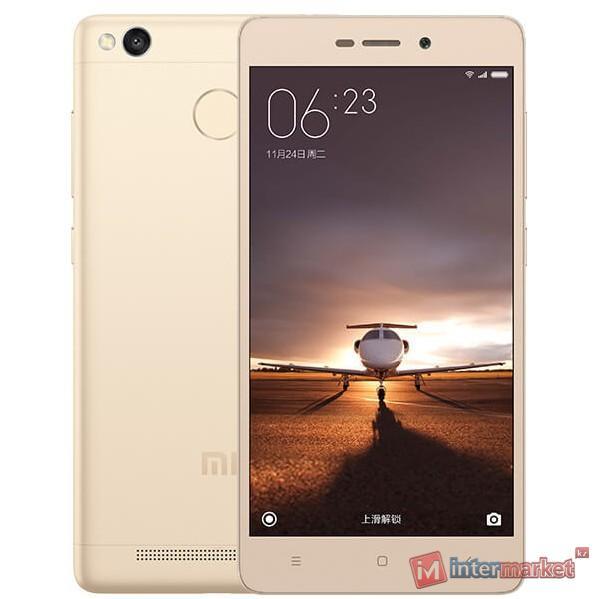 Смартфон Xiaomi Redmi 3S, 16Gb, Gold