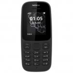 Телефон сотовый NOKIA 105 (Черный)